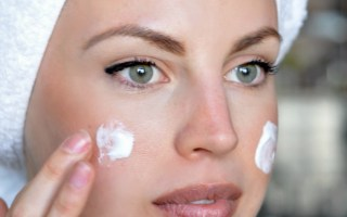 DIY frankincense facial night cream