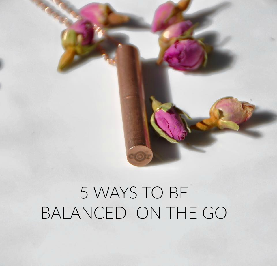 how to be healthy on the go