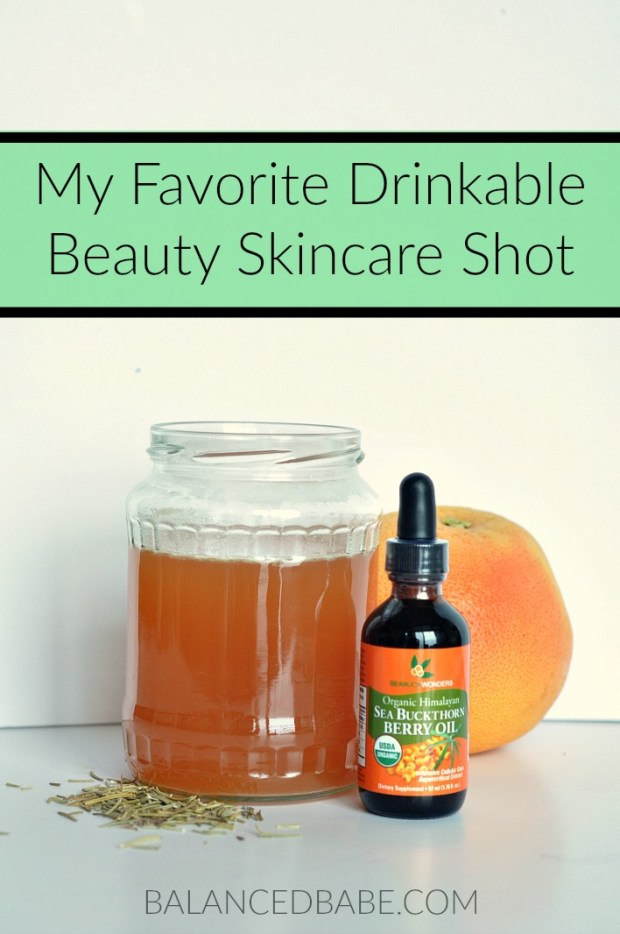 drinkable beauty skincare shot