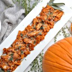 Grain Free Dairy Free Pumpkin Sage Pasta