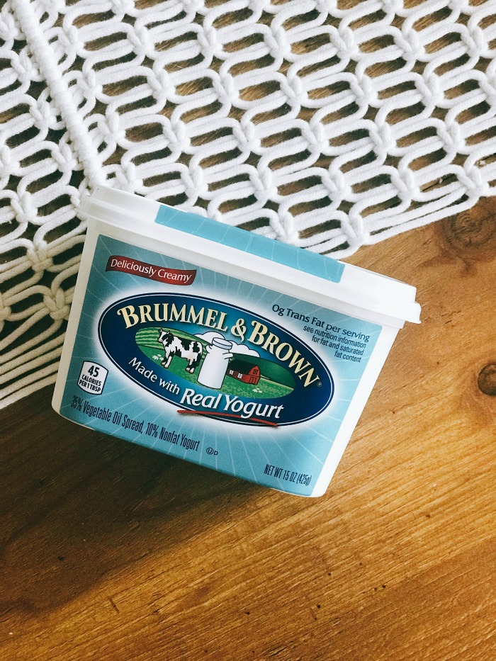 I used Brummel & Brown Yogurt Spread to give this recipe an ultra buttery taste, but without unhealthy trans fat and cholesterol that you'd find in real ...
