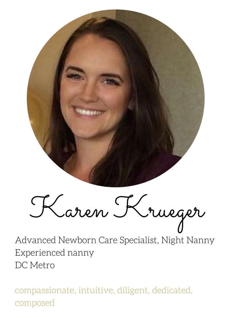 Karen Kruger newborn care specialist