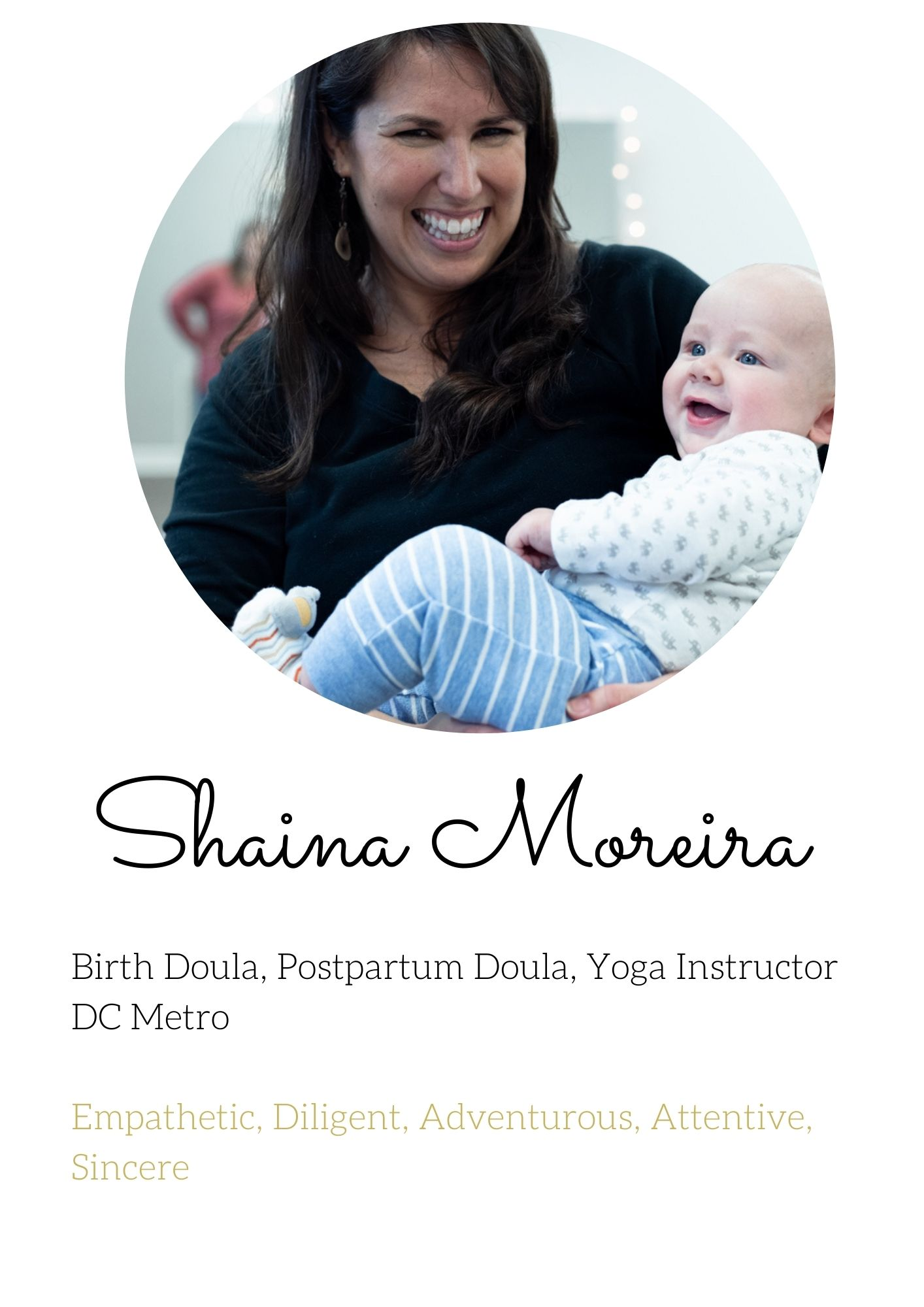 Shaina Moreira Birth Doula postpartum doula virginia dc