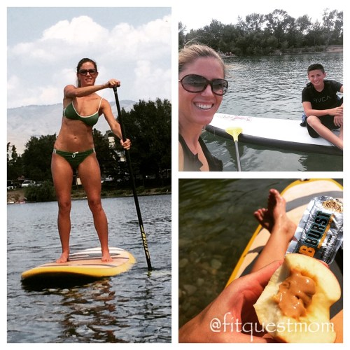 FitQuestMom Stand Up Paddle SUP