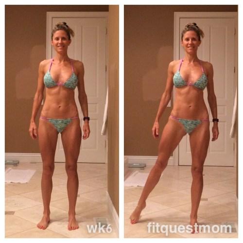 Week 6 Collage Reverse Diet Fitquestmom