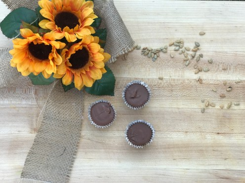 Sun butter is rich, creamy, thick, and works perfectly with sweet and silky chocolate.