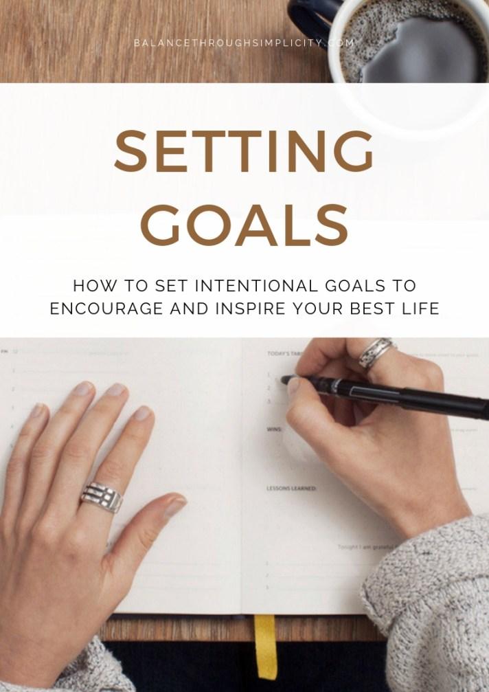 Setting Goals Toolkit