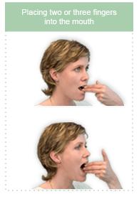Three Finger Test for TMJ