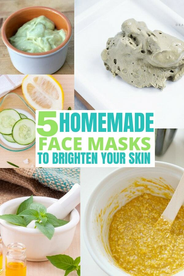 5 Easy DIY Face Masks for Glowing Skin. Brighten your skin with these easy homemade face masks!