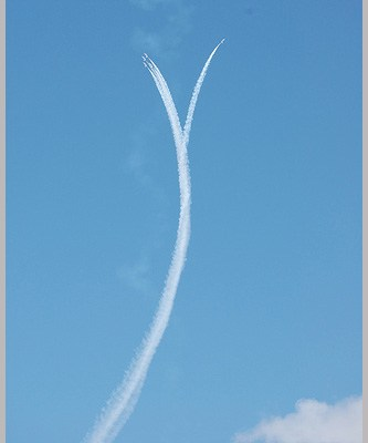Practcing My Photography Skills On The Air Force Thunderbirds