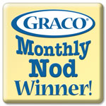 gracy baby blog nod winner