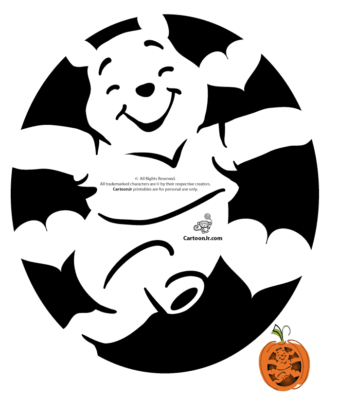 image about Peanuts Pumpkin Printable Carving Patterns named Pumpkin Carving Stencils of Your Children Favourite Cartoon