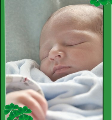 St. Patrick's Day Photo Frame — Free Download