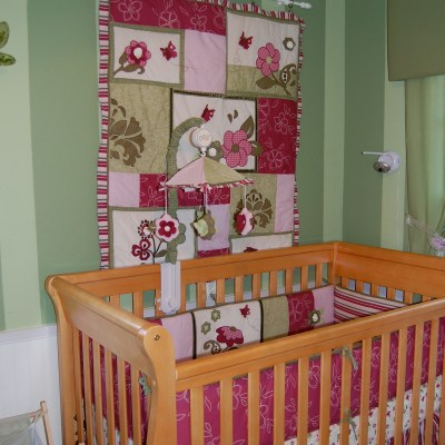 Changing a Boy's Nursery Into a Girl's Nursery