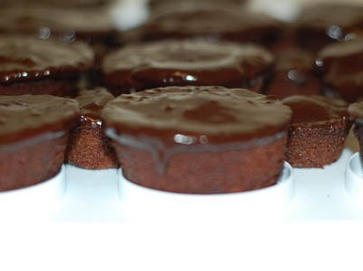 Ina Garten's Chocolate Ganache Cupcakes