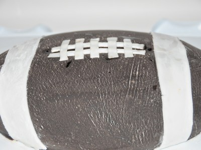 Football Cake For The Big Game