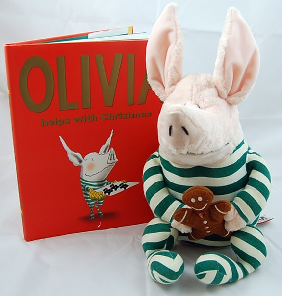 Olivie Helps With Christmas book