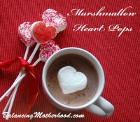chocolate marshmallow pop
