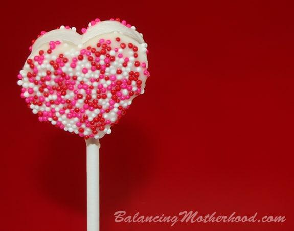 chocolate marshmallow pop