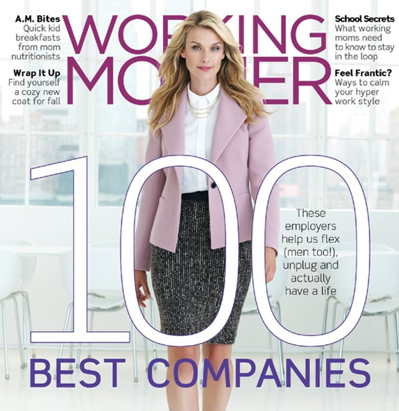 Top 100 Companies for Working Mothers