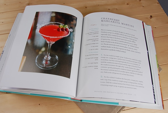 mcbride cookbook martini
