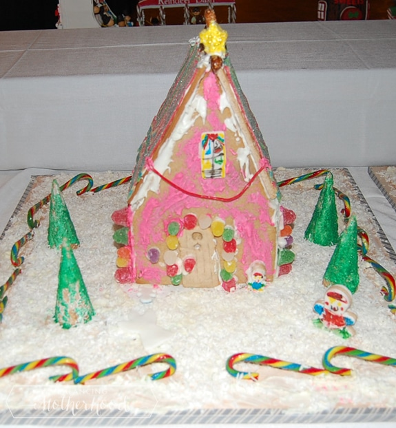 gingerbread house made for The Omni Grove Park Inn