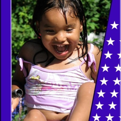 Fourth of July Photo Frame — Free Download