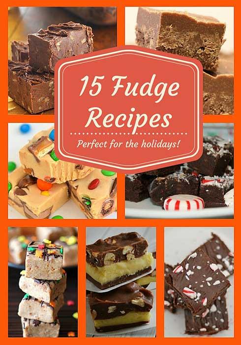 15 fudge recipes