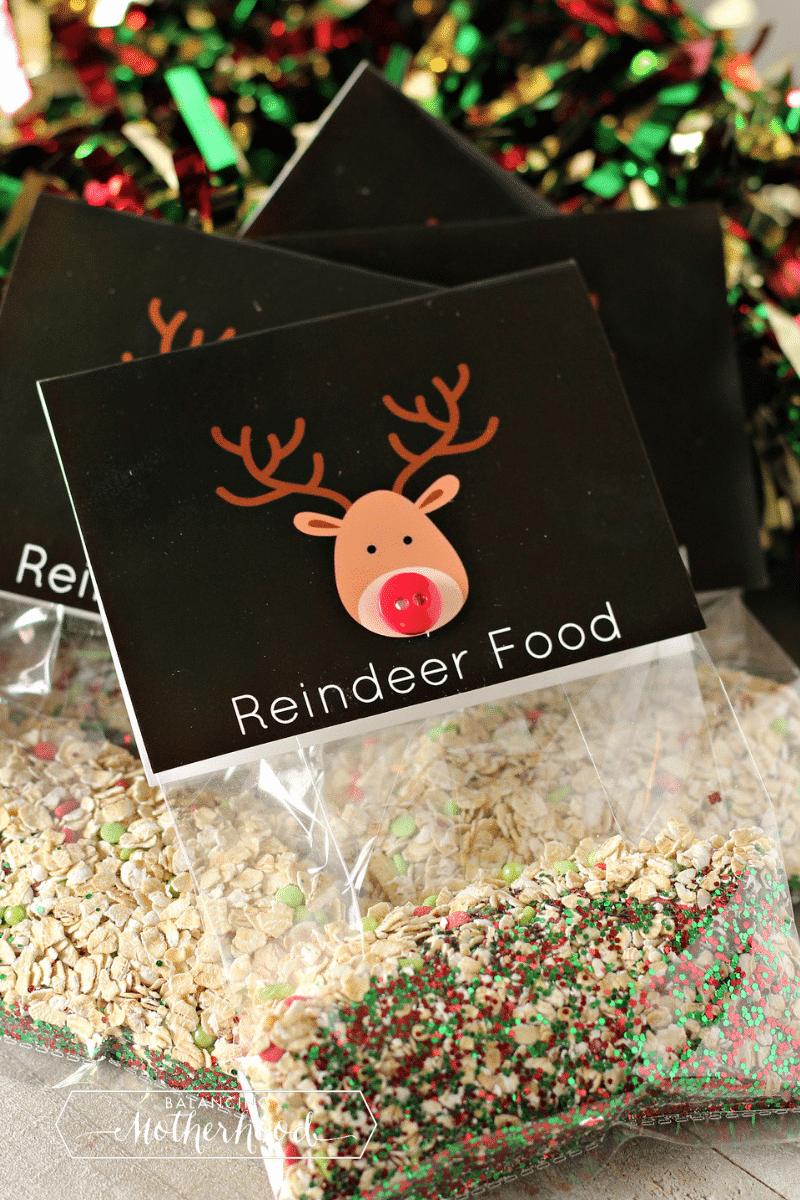reindeer food in baggies