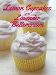 lemon cupcakes with lavender buttercream recipe