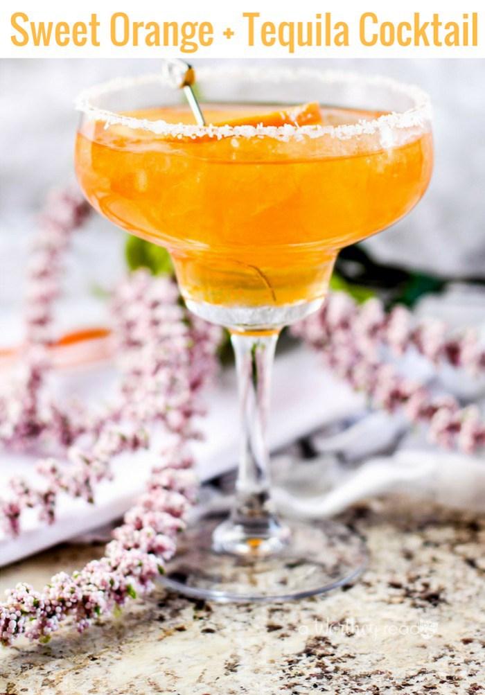 orange Cinco de Mayo drink and cocktail