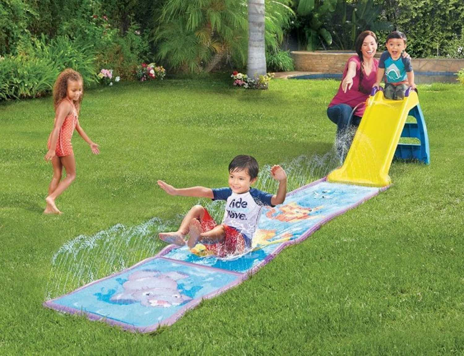 Little Tykes slide and splash mat