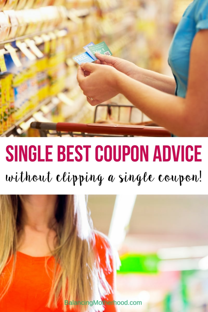 The single best couponing advice for beginners -- without clipping a single coupon