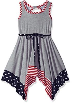 e7af801bec Bonnie Jean Girls  Americana Dress 6. Good Lad Navy Seersucker Shortall  with July 4th Smocking 7. Disney Girls  Minnie Mouse 2-Piece Short Set