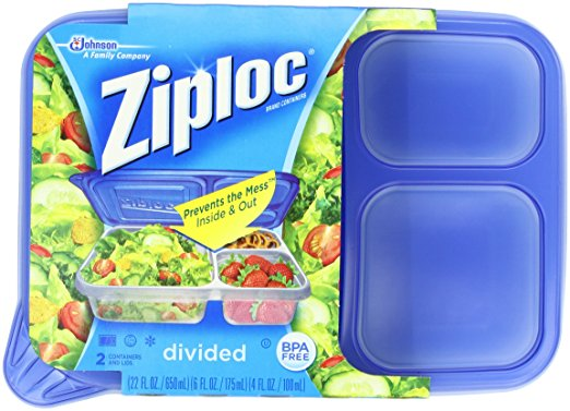 ziploc leakproof lunchbox