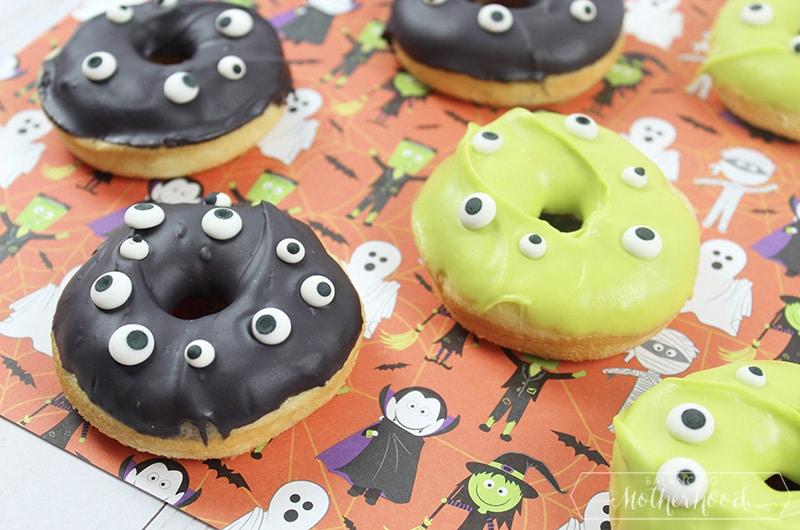 Halloween Monster Donuts 2