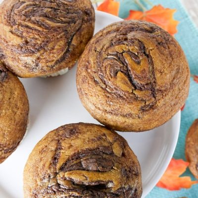 Pumpkin Nutella Muffin