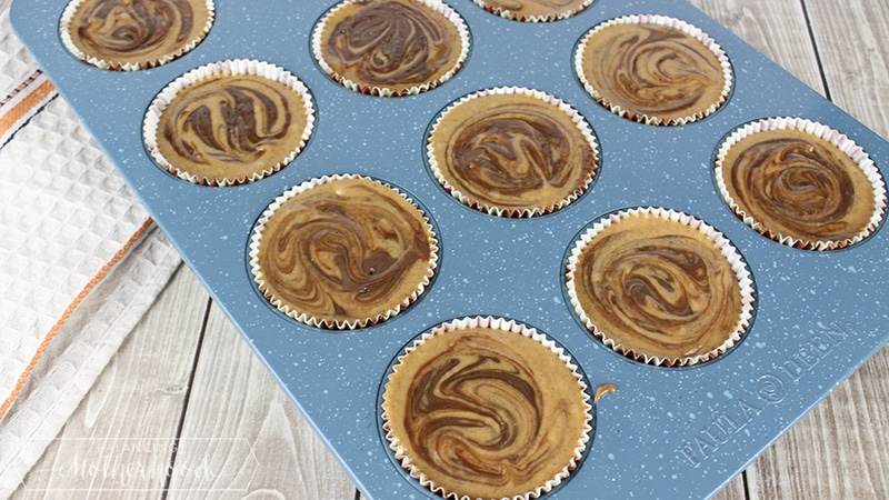 Pumpkin Nutella Muffins Step 7