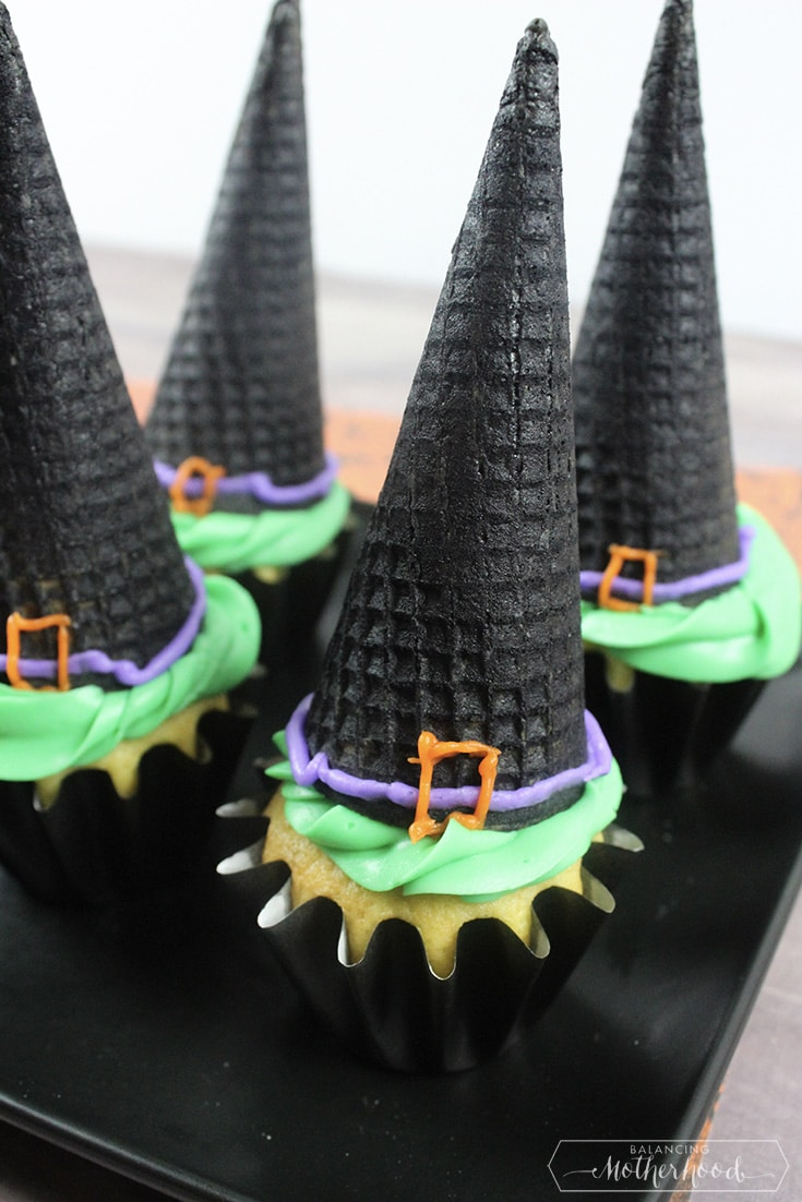 Witch Hat Cupcakes 3