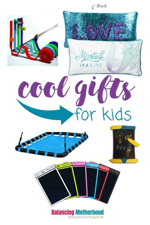 cool gifts for kids: unique gifts for kids, including STEM-related gifts to encourage imagination and constructive thinking.