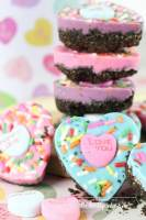 oreo bark conversation hearts are perfect treat for Valentine's Day