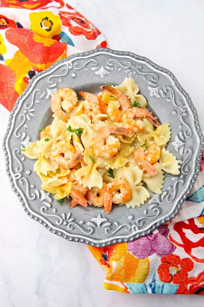 Instant Pot shrimp scampi recipe