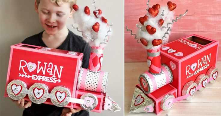 DIY Valentine Box: All Aboard the Love Train!