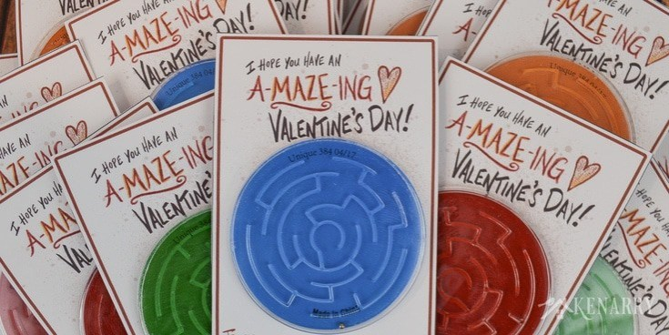 A-Maze-ing Free Printable Valentine's Day Card for Kids | Ideas for the Home
