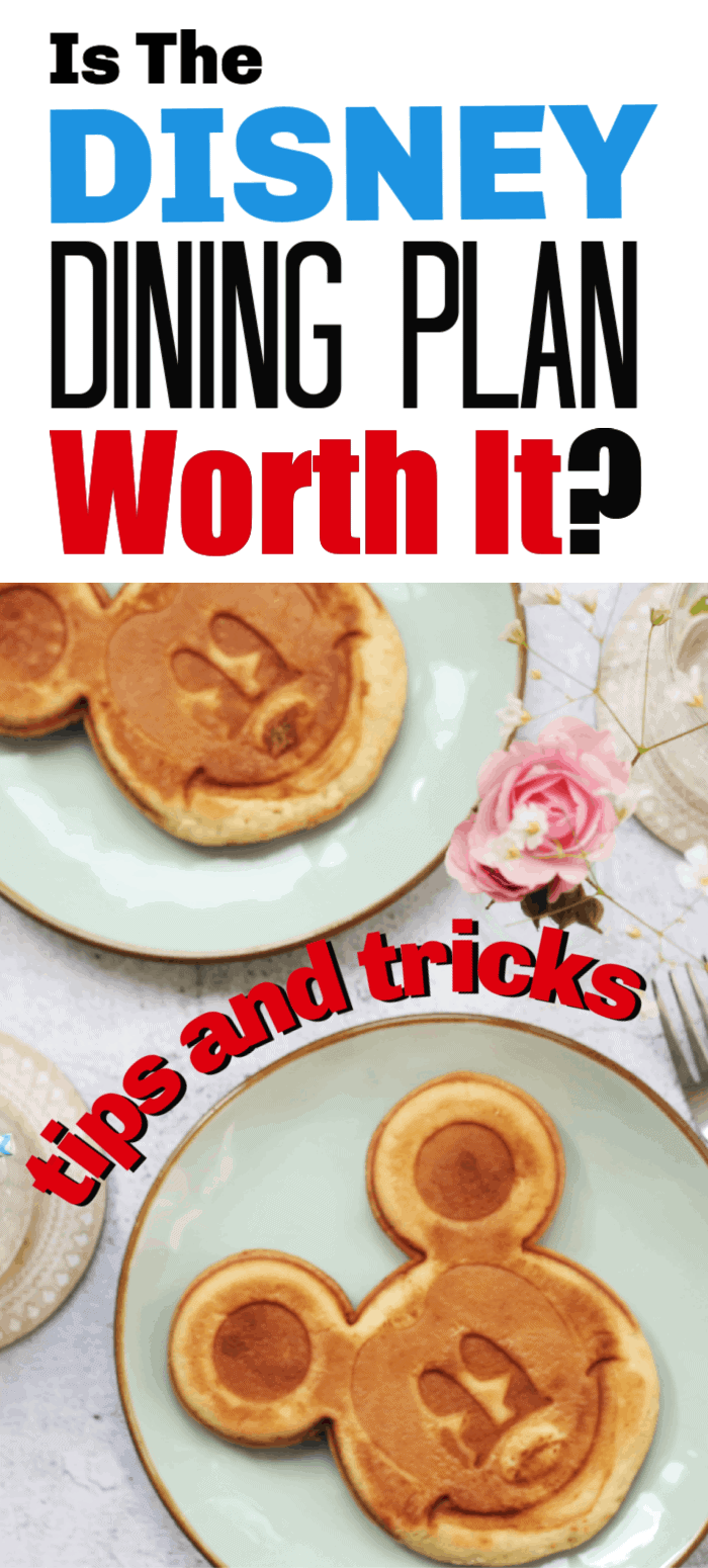 Many families love to use the Disney Dining Plan during their Walt Disney vacation. It's a convenient way to pre-pay for meals before you even step foot on the property. But is the dining plan worth it? We detail all the ins and outs of the program so you don't have to! Get all the tips and tricks to the Disney Dining Plan!