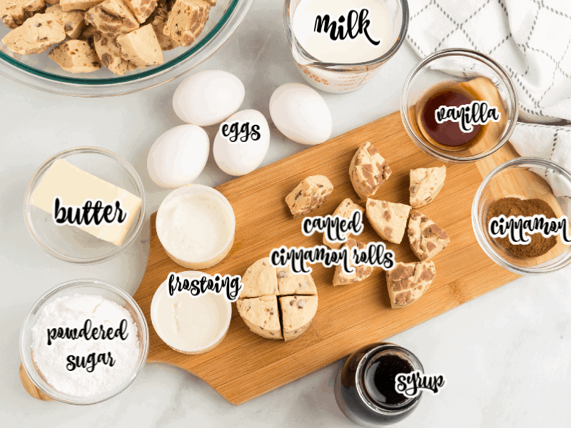 french toast bake ingredients