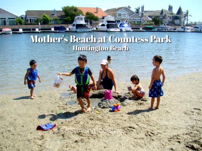 Mothers Beach at Countess Park Huntington Beach