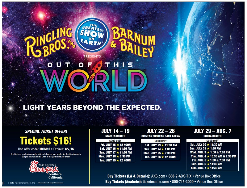 Get Your Tickets Now   Ringling Brosu0027 Out Of This World | @RinglingBros    Balancing The Chaos