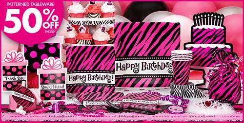 Party City Oh So Fabulous Diva Birthday