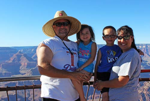 The Willeys at The Grand Canyon